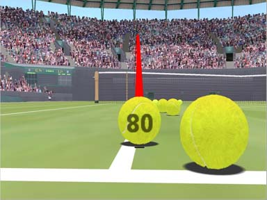 Hawk-Eye real-time virtual graphics