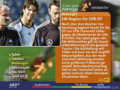 ARD Digital Euro 2004
