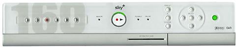 Sky+ 160Gb digital video recorder
