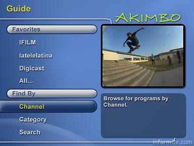 Akimbo on screen guide