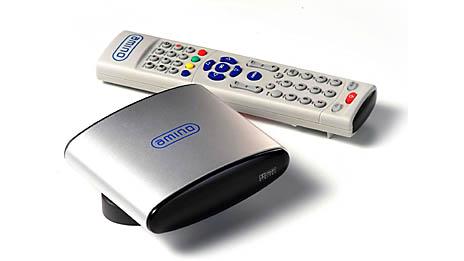 AminNET120 IPTV HDTV set-top box, Image: Amino