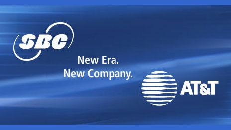 SBC announces acquisition of AT&T
