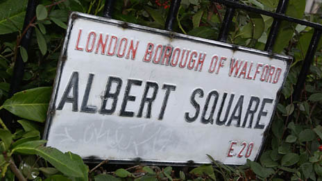EastEnders, the BBC soap opera set in Albert Square, is planning to provide an interactive Xtra service, Image: BBC