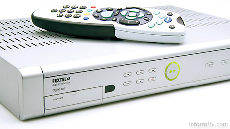 Foxtel iQ personal digital video recorder, Photo: Foxtel