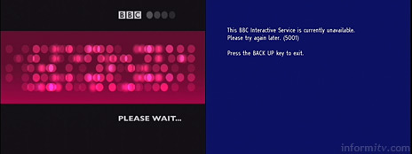 BBC Test the Nation – Please wait – The BBC Interactive Service is currently unavailable