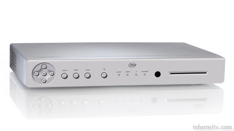 Pace IP215 IPTV set-top box with hardware H.264 MPEG-4 decoding, Image: Pace
