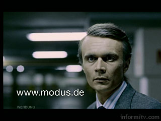 Modus channel hop advertisement, winner of a D&AD silver award, Image: Renault/D&AD