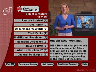 EchoStar Dish Network customer service application