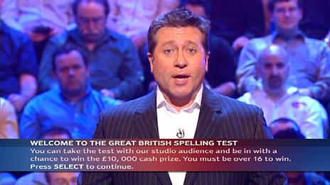 Great British Spelling Test: ITV