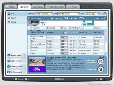 BBC iMP integrated Media Player guide
