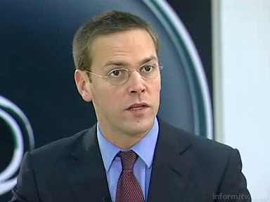 James Murdoch, chief executive of BSkyB. Image copyright ©2006 Cantos