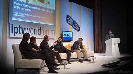IPTV World Forum 2006 in London. Photo: © 2006 informitv