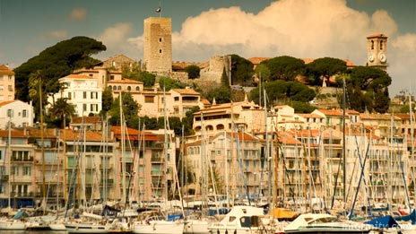 Cannes harbour provides the backdrop for MIPTV MILIA 2006. Photo: © 2006 informitv. All rights reserved.