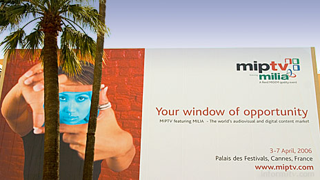 MIPTV MILIA 2006. Photo: © 2006 informitv. All rights reserved.