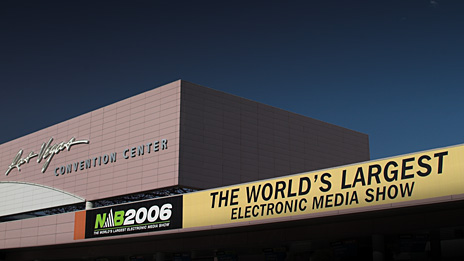 NAB2006, Las Vegas Convention Center. Photo: © 2006 informitv. All rights reserved.