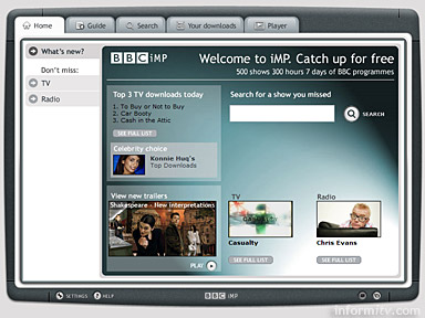 BBC iMP integrated Media Player