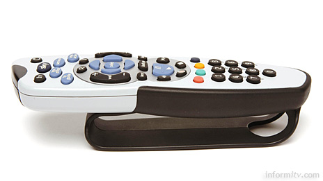 Sky Easy Grip remote with clearer buttons and either a hand strap or texture grip.