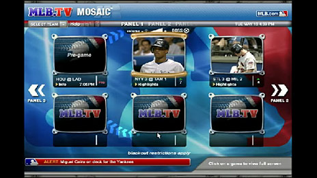 Ensequence software used to produce the Major League Baseball broadband interactive application.