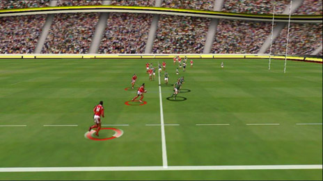 Piero output showing virtual view of stadium from another angle not previously captured by cameras. Image: Red Bee Media
