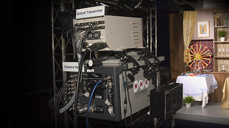 Ultra high-definition television camera on display at IBC. Photo: informitv