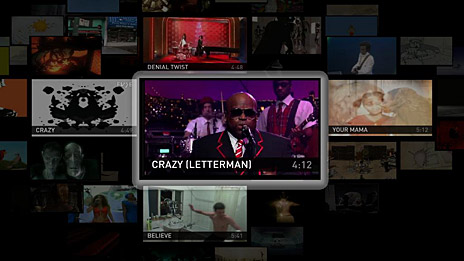Recommendations display. Image: OpenTV.