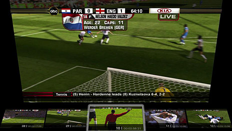 Scene selection. Image: OpenTV.