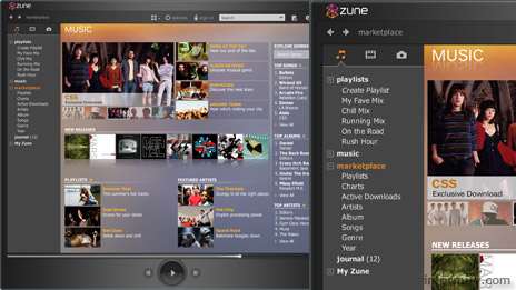 Microsoft Zune Marketplace online subscription and retail service