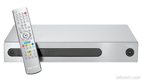 Swisscom launches Bluewin TV over telephone lines. The set-top box is provided by Linksys.