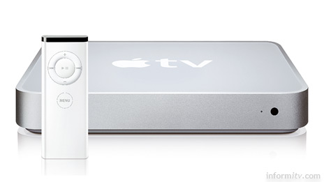 Apple TV -- aiming to become the television iPod.