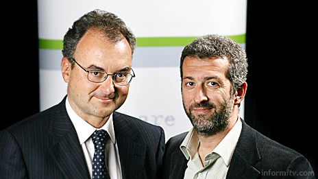 Silvio Scaglia and Erik Lumer, the co-founders of Babelgum, the latest initiative to reach broadband video viewers.