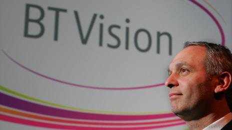 BT Vision chief executive Dan Marks.