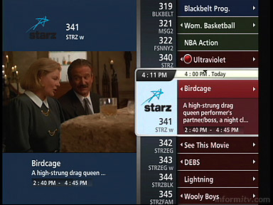 Verizon FiOS Interactive Media Guide.