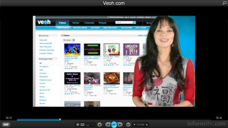 VeohTV from Veoh Networks provides a browser application that delivers online video promise.