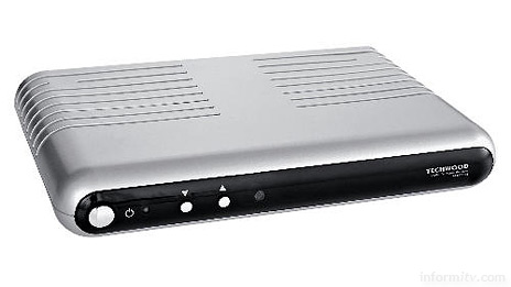 The Techwood STBS7B Freeview set-top box is on sale at Tesco for a tenner.