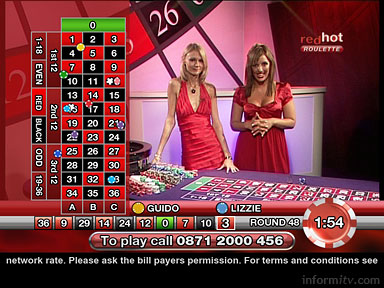 Red Hot Roulette on Sky from PitchGaming and Two Way TV.