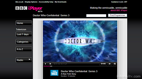 The BBC iPlayer now uses Adobe Flash to stream video on demand.