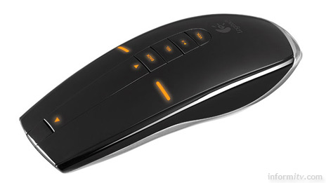 The Logitech MX Air Mouse uses Hillcrest Freespace technology.
