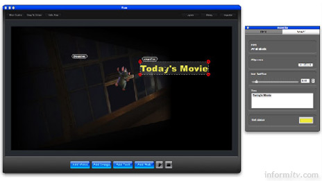 The Millicent M.Create interactive television design tool from Best Before Media.