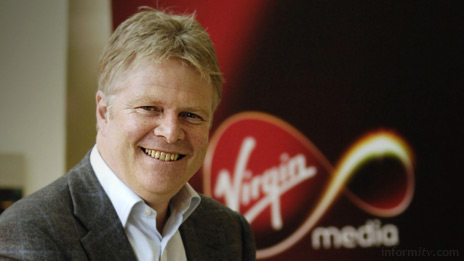 Virgin Media executive Steve Burkett dismisses net-neutrality as a 'load of bollocks'. Photo: VisMedia