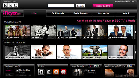 The latest version of the BBC iPlayer now provides online access to television and radio programmes.