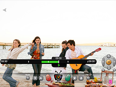 Nero LiquidTV/TiVo PC includes all the standard digital video recorder functions and includes keyboard shortcuts.