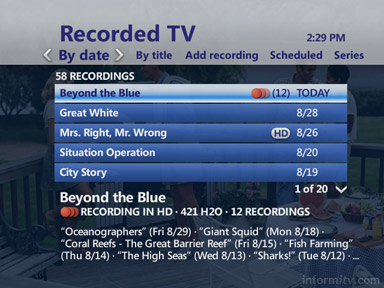 The AT&ampT U-verse service, featuring a Total Home DVR, will be promoted in Wal-Mark and Circuit City stores in areas where it is available.