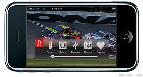 EchoStar subsidiary Sling Media announces Sling Player for the Apple iPhone and iPod Touch.