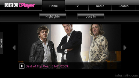 Boxee plug-ins include support for the BBC iPlayer.