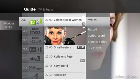 Indicative example of a Canvas user interface. Source: BBC.