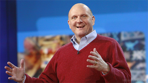 Steve Ballmer, the chief executive of Microsoft at CES 2010. Photo: CES.