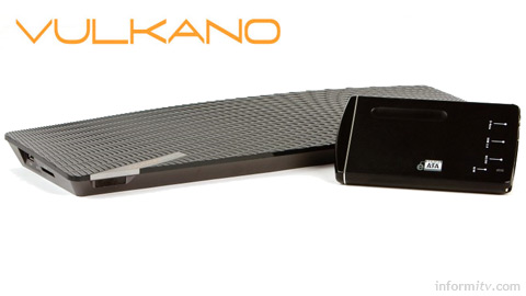 The Monsoon Vulkano promises to open the set-top box by combining the time-shifting and place-shifting features of products like TiVo and Slingbox.