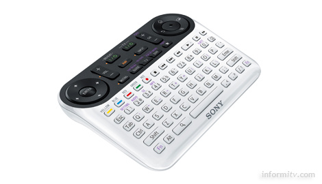 The Sony Internet TV remote has over 80 buttons.