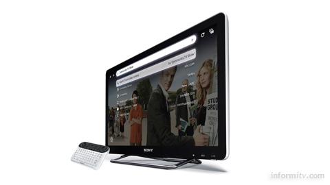 Sony Internet TV incorporating Google TV.