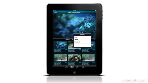 Brightcove provides an application framework to accelerate the deployment of apps on the Apple iPad.